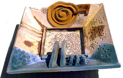 Brian Gartside (NZ/UK) paper clay and digital design of glaze and texture.  workshops in New Zealand, USA and UK  Written two good introduction to paper clay articles  Website: www.gartside.info